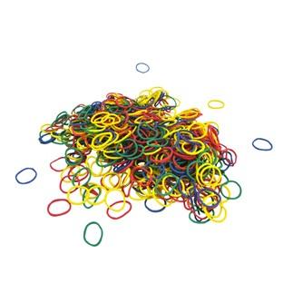 500 mini-élastiques en Caoutchouc Multicolores