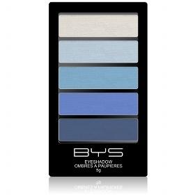 Ombres à paupières 5 couleurs BYS Maquillage