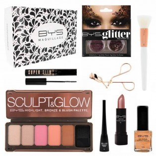 Coffret maquillage Rose Gold