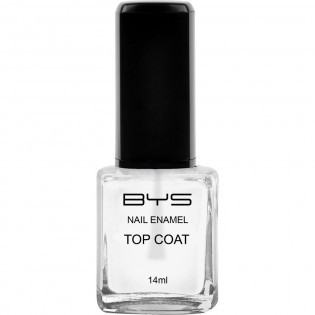 Top Coat Transparent Cristal Shine