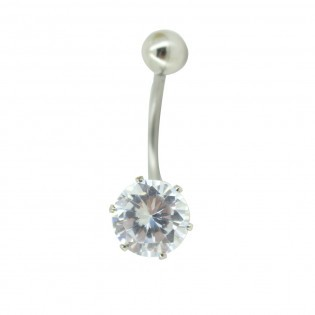 Piercing Nombril Diamant