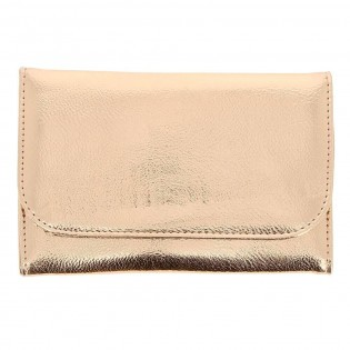 Trousse Pinceaux Maquillage Rose Gold