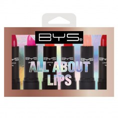 BYS ALL ABOUT LIPS 6PK LIPSTICK