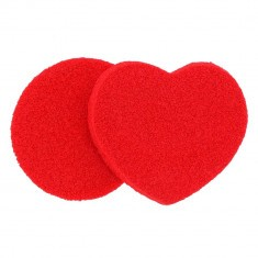 Duo d'Eponges Nettoyantes Love