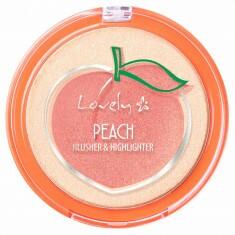 Duo Highlight & Blush *Peach Edition*