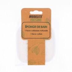 Eponge Double Face Coton & Cellulose