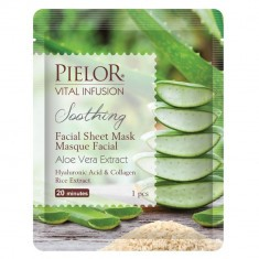 Masque Tissu Apaisant à l'Aloe Vera