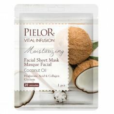 Masque Tissu Hydratant à la Noix de Coco