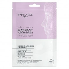 Masque en Tissu Skin Booster Matifiant & Pore Minimizer