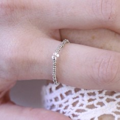 Bague LILI STAR Silver Or Rose