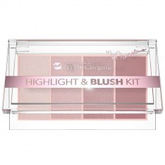Palette Highlight & Blush Hypoallergénique