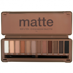 Palette 12 Fards Nude Mat Finish vue de face
