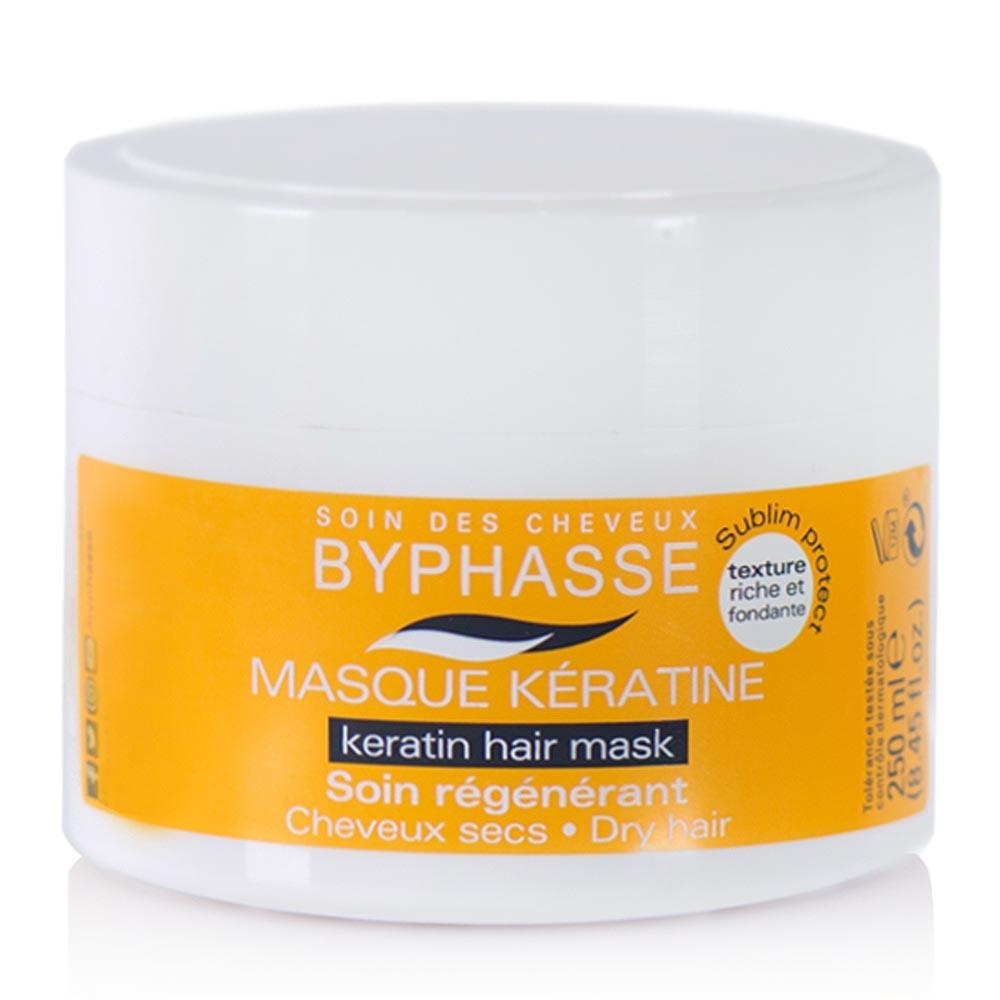Keratine liquide pour cheveux byphasse