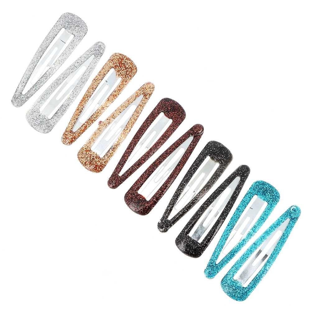 barrettes clic clac paillet es x10 sur bys maquillage. Black Bedroom Furniture Sets. Home Design Ideas