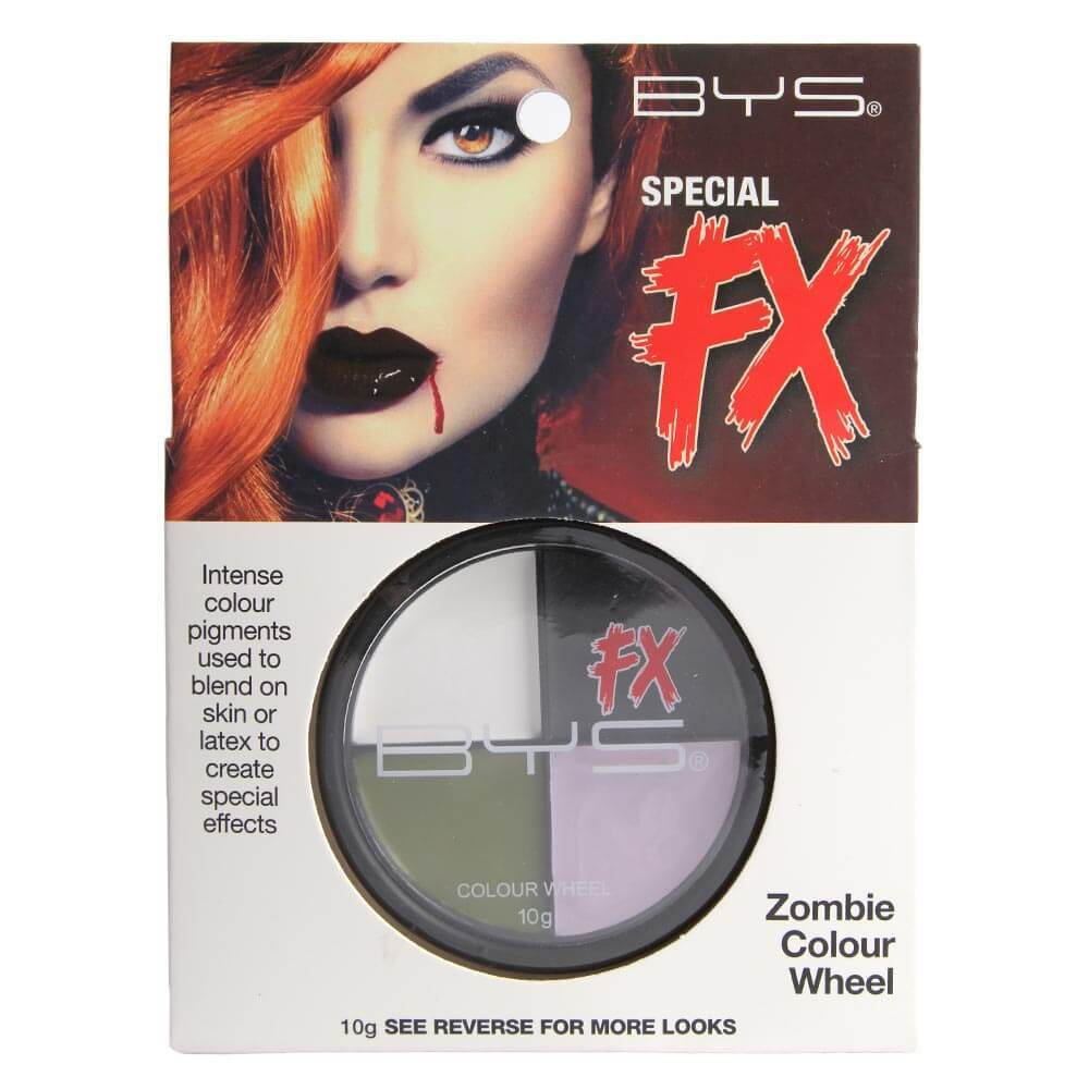 palette maquillage halloween zombie 4 fards effets. Black Bedroom Furniture Sets. Home Design Ideas