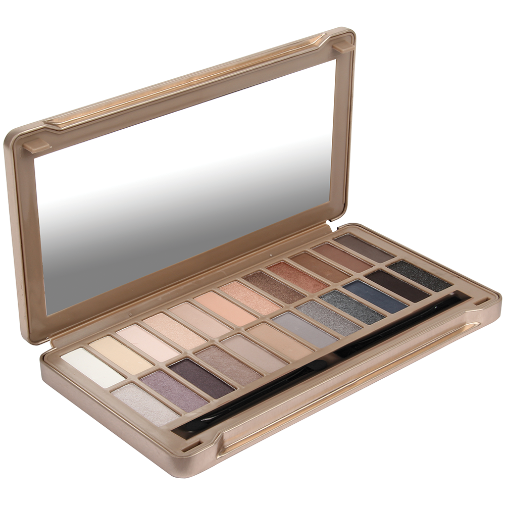 Palette Nude 24 Fards Exposed vue de face