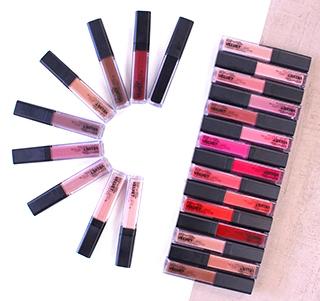 Collection de maquillage mat pas cher avec BYS Maquillage