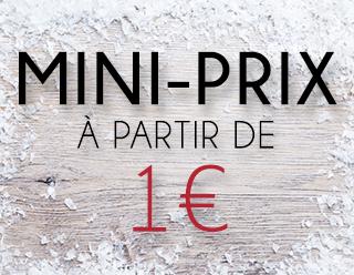 Mini prix chez BYS Maquillage à partir de 1€ !