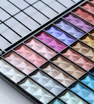 Palettes de maquillage pas chères BYS Maquillage
