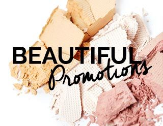 Promotions maquillage