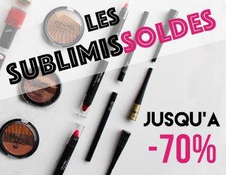 BYS Maquillage propose une large gamme de produits de beauté en Soldes !