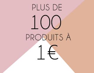 Toute la collection de maquillage à 1 euro seulement chez BYS Maquillage