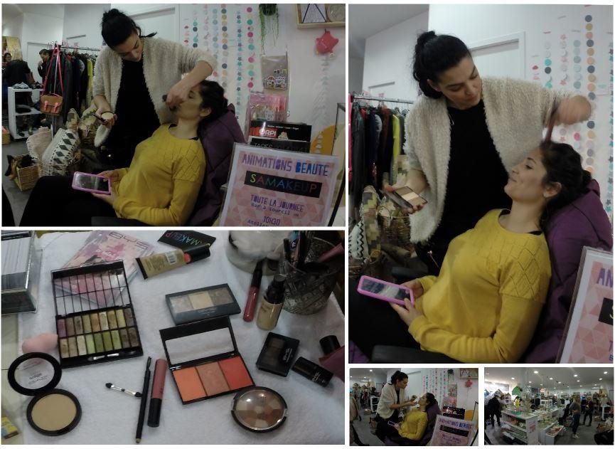 Ateliers Maquillage Flash réalisé par Samakeup avec BYS Maquillage